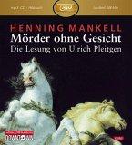 Mörder ohne Gesicht / Kurt Wallander Bd.2 (1 MP3-CD)