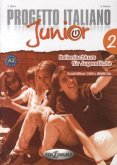 Progetto italiano Junior 2 für deutschsprachige Lerner - Quaderno degli esercizi