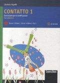 Contatto 1. Übungsheft (Eserciziario per le Certificazioni) mit Audio CD und Lösungen