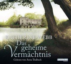 Das geheime Vermächtnis (MP3-Download) - Webb, Katherine