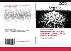 Tratamiento de un suelo salino con Ca(OH)2 en el trópico mexicano