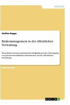Risikomanagement in der öffentlichen Verwaltung