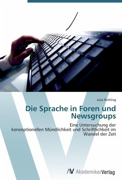 Die Sprache in Foren und Newsgroups