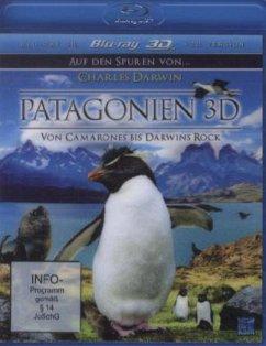 Patagonien - Auf den Spuren von... Charles Darwin: Von Camarones bis Darwins Rock (Blu-ray 3D) - N/A