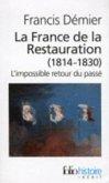 France de La Restauration