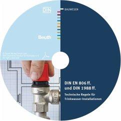 DIN EN 806 ff. und DIN 1988 ff., CD-ROM, CD-ROM