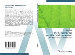 Die Semantik der genetischen Information