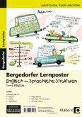 Lernposter Englisch - Sprachliche Strukturen, 1.-4. Klasse