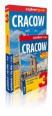 Cracow guidebook + city atlas + map