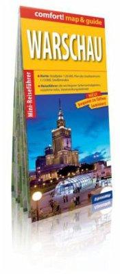 Comfort! map & guide Warschau