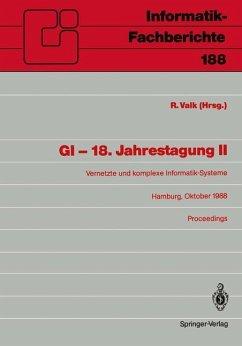 GI - 18. Jahrestagung II