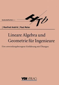 Lineare Algebra und Geometrie für Ingenieure - Andrie, Manfred; Meier, Paul