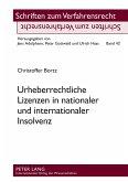 Urheberrechtliche Lizenzen in nationaler und internationaler Insolvenz