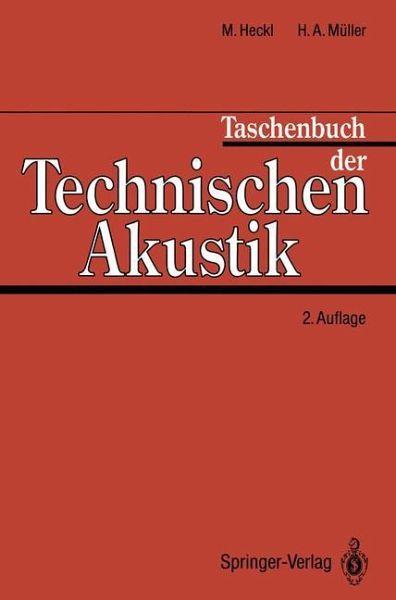 taschenbuch der technischen akustik fachbuch b. Black Bedroom Furniture Sets. Home Design Ideas