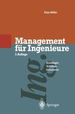 Management für Ingenieure - Müller, Klaus