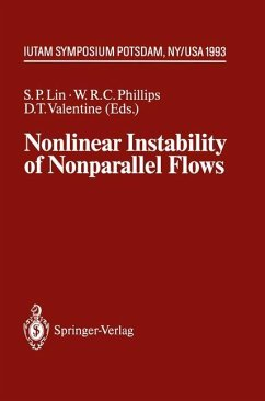 Nonlinear Instability of Nonparallel Flows