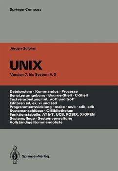 UNIX - Gulbins, Jürgen