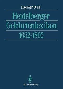 Heidelberger Gelehrtenlexikon - Drüll, Dagmar