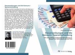 Steuersenkungen und die Konsum-/ Sparentscheidung