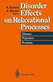 Disorder Effects on Relaxational Processes