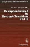 Desorption Induced by Electronic Transitions, DIET III