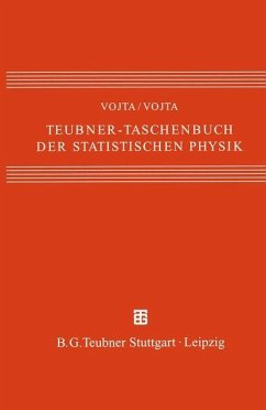 Teubner-Taschenbuch der statistischen Physik - Vojta, Günter; Vojta, Matthias