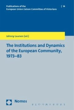 The Institutions and Dynamics of the European Community, 1973-83