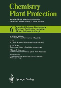 Controlled Release, Biochemical Effects of Pesticides, Inhibition of Plant Pathogenic Fungi