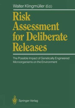 Risk Assessment for Deliberate Releases