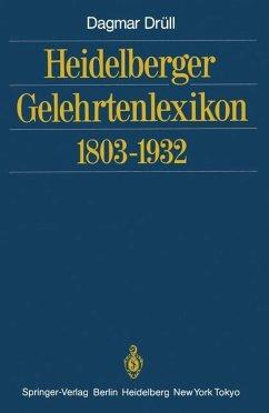 Heidelberger Gelehrtenlexikon 1803-1932 - Drüll, Dagmar