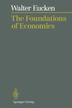 The Foundations of Economics