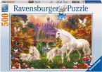 Ravensburger 14195 - Zauberhafte Einhörner, Puzzle, 500 Teile