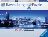 Ravensburger 15050 - Leuchtendes New York, Panorama Puzzle, 1000 Teile