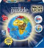 Ravensburger 12142 - Nachtliche Kindererde, 3D puzzleball®, 72 Teile