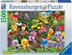 Ravensburger 16260 - Gelini Gartenarbeit, Puzzle, 1500 Teile