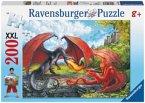 Kampf der Drachen (Kinderpuzzle)