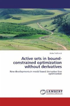 Active sets in bound-constrained optimization without derivatives