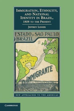 Immigration, Ethnicity, and National Identity in Brazil, 1808 to the Present - Lesser, Jeffrey
