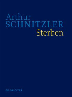 Sterben - Schnitzler, Arthur