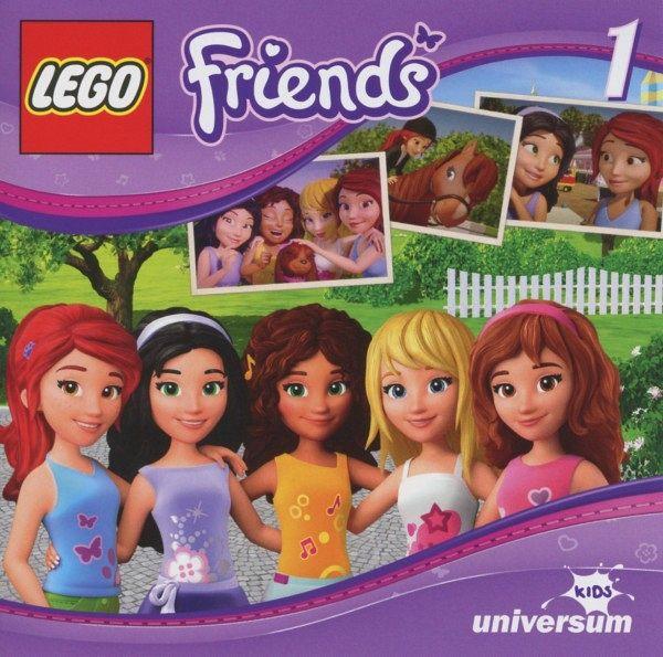 Tierisch gute Freunde LEGO Friends Bd.1 Audio-CD
