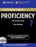 Cambridge Certificate of Proficiency in English 1 for updated exam. Student's Book Pack (Student's Book with answers and 2 Audio CDs)