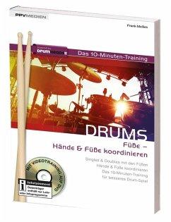 Drums - das 10-Minuten-Training, Bewegung der Füße
