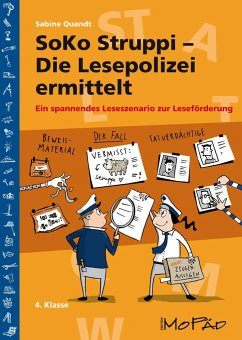 SoKo Struppi - Die Lesepolizei ermittelt - Quandt, Sabine