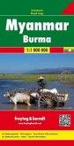 Freytag & Berndt Autokarte Myanmar / Burma