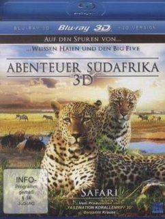 Abenteuer Südafrika - Safari (Blu-ray 3D)