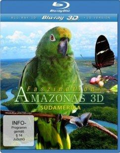 Faszination Amazonas - Südamerika (Blu-ray 3D) - N/A