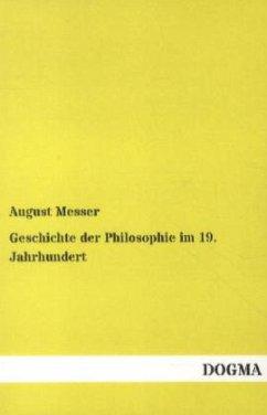 Geschichte der Philosophie im 19. Jahrhundert