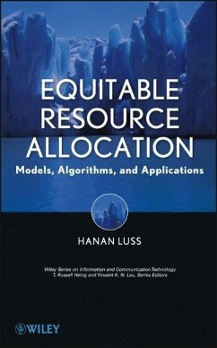 Equitable Resource Allocation: Models, Algorithms, and Applications - Luss, Hanan