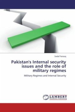Pakistan's Internal security issues and the role of military regimes