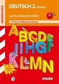 Deutsch 2. Klasse Lernzielkontrolle Training Grundschule